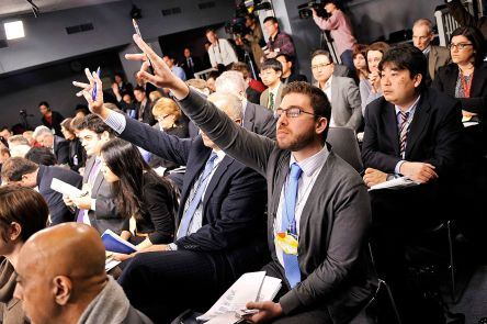 members_of_the_press_raise_their_hands_to_ask_questions_as_secretary_of_defense_leon_e-_panetta_and_general_martin_dempsey